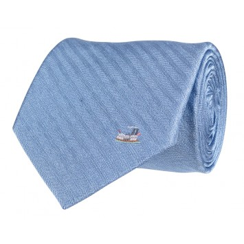 Riverboat Tie: Blue